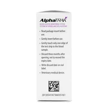 Picture of ALPHA TRAK 2 CONTROL SOLN (32111-46-01) 2 x 4ml btl