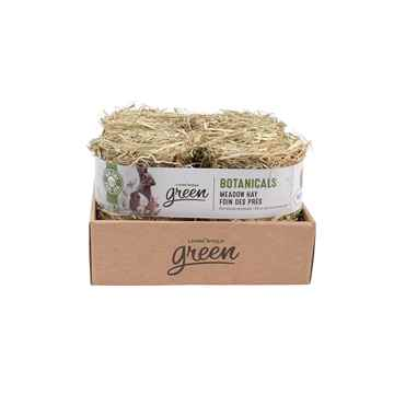 Picture of LIVING WORLD GREEN BOTANICALS MEADOW HAY BALE Natural - 4 x 150g