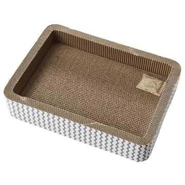 Picture of TOY CAT SPOT Bed Cat Scratcher with Catnip/Silver Vine - 17in
