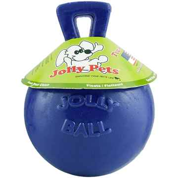 Picture of TOY DOG JOLLY BALL TUG N TOSS Blue - 4.5in