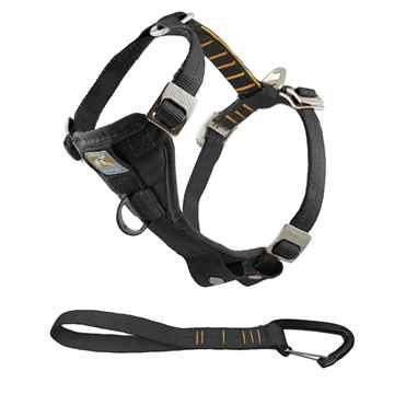 Picture of HARNESS KURGO Enhanced Strength Tru-Fit with Tether Black  - Medium