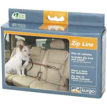 Picture of AUTO ZIP LINE KURGO with Leash/Teather - Black/Orange