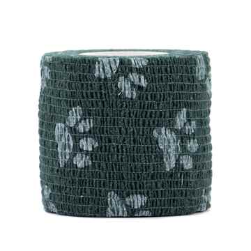 Picture of PETWRAP BANDAGE Green Paw Pattern - 2in x 5yds