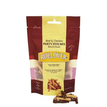 Picture of ROLLOVER BEEF & CHICKEN PARTY STIX MIX - 100g