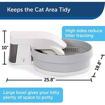 Picture of PETSAFE SIMPLY CLEAN Self Cleaning Litter Box System