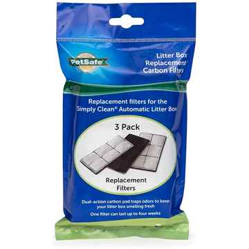 Picture of PETSAFE SIMPLY CLEAN Self Cleaning Litter Box Replacement Filters - 3/pk