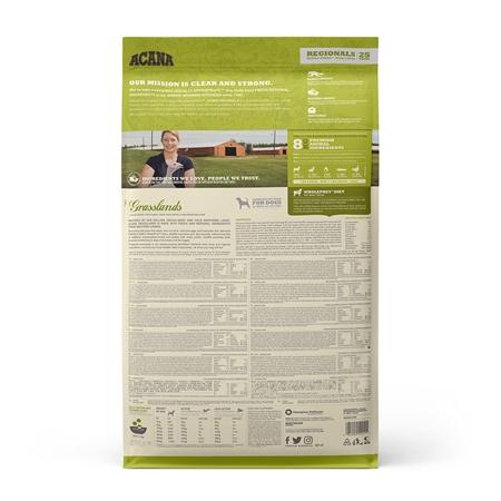 Picture of CANINE ACANA REGIONALS Grasslands Grain Free - 11.4kg
