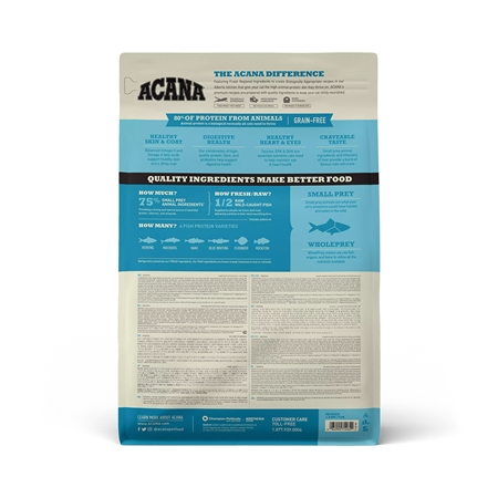 Picture of FELINE ACANA Pacifica Fish Dry Food - 1.8kg
