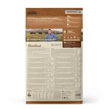 Picture of CANINE ACANA REGIONALS Ranchlands - 11.4kg/25lb