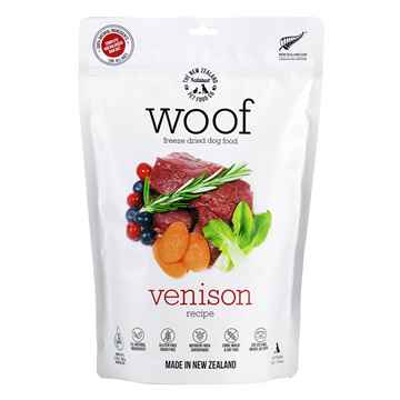 Picture of CANINE NZ NATURAL WOOF FREEZE DRIED FOOD Wild Venison - 9.9oz/280g