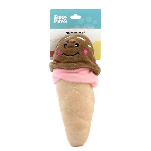Picture of TOY DOG ZIPPYPAWS STUFFED NOMNOMZ - Ice Cream