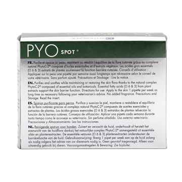 Picture of DERMOSCENT PYO-SPOT for DOGS 10 to 20kg - 4 x 1.2ml