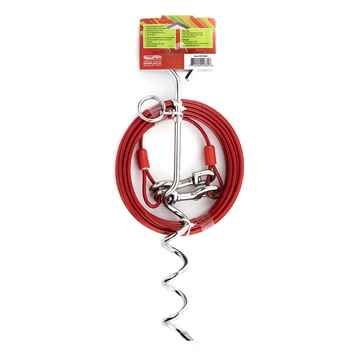 Picture of TIE OUT CABLE 30ft and SPIRAL TIE OUT STAKE Combo