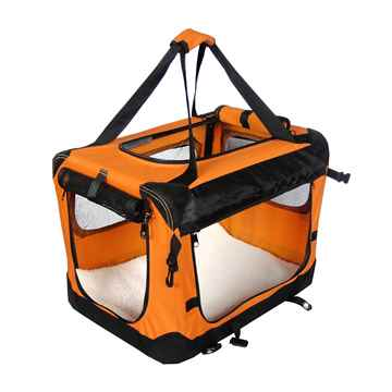 Picture of TUFF CRATE DELUXE SOFT CRATE Large 31.5in x 21.5in x 23.5in - Orange