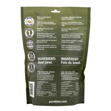 Picture of TREAT PUREBITES K/9 Beef Liver - 470g