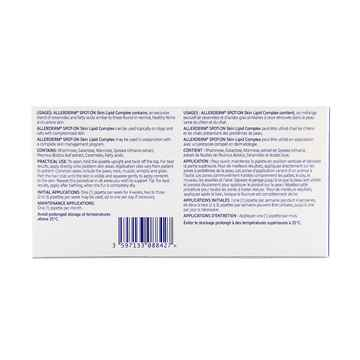 Picture of ALLERDERM SPOT-ON SKIN LIPID COMP.  SM. DOGS/ CATS - 6 x 2ml