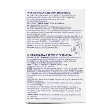 Picture of PRONEFRA PALATABLE ORAL SUSPENSION - 180ml