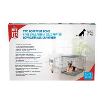 Picture of DOGIT DOUBLE DOOR DOG CRATE with DIVIDER - 42in x 27.5in x 30in