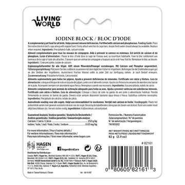 Picture of LIVING WORLD IODINE BLOCK (82161) - Large